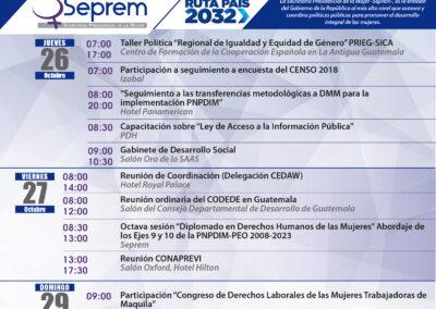 agenda de actividades 23 al 29 de octubre-b
