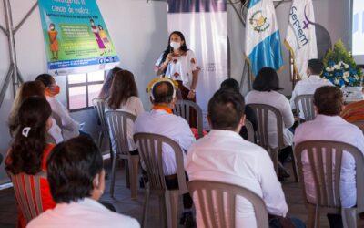 Subsecretaria Sra. Silvia Alejandra Hernández, participó junto al personal de SEPREM, en la Conmemoración del Día Internacional de la Eliminación de la Violencia contra la Mujer