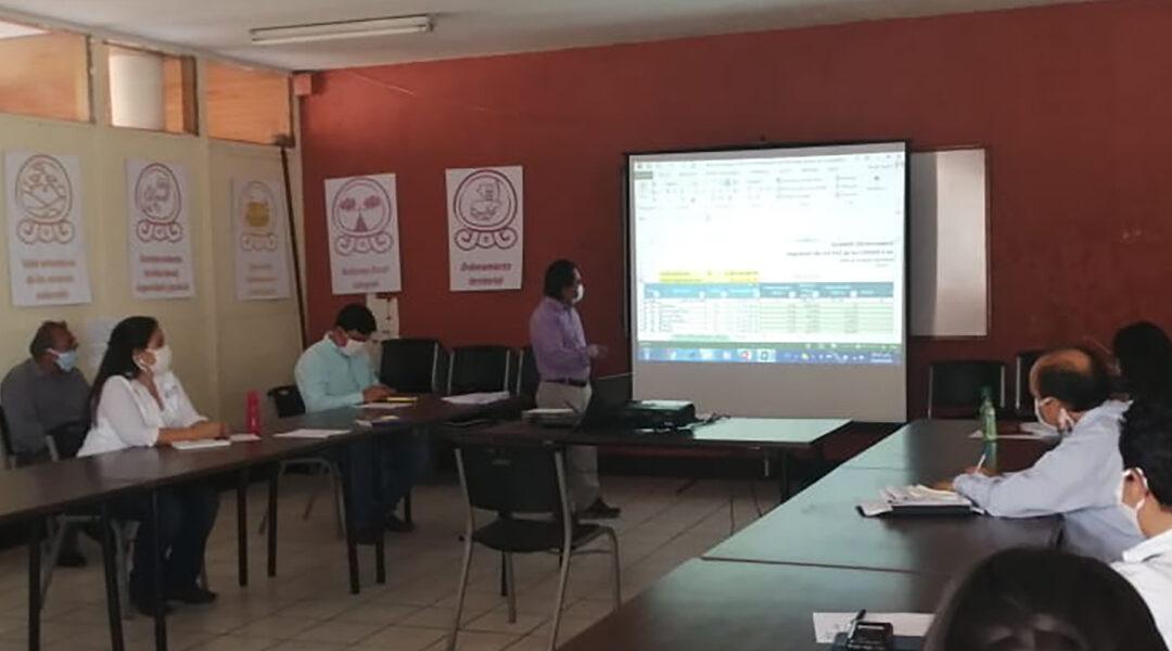 Reunión de la Unidad Técnica Departamental -UTD-.