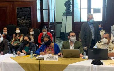 Citación de trabajo por parte de Comisión de la Mujer del Congreso de la República.