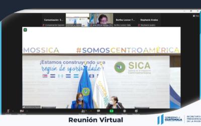 Reunión de coordinación con la Consejo Fiscalizador Regional del Sistema de Integración Centroamericana CFR / SICA
