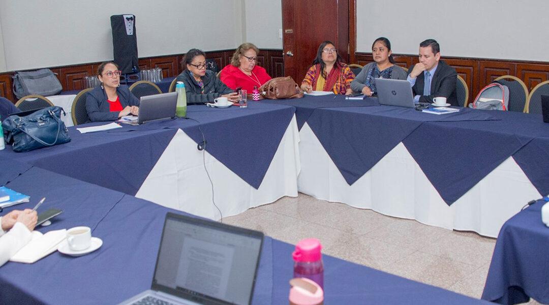 Reunión del Mecanismo Intersectorial para el seguimiento a la CEDAW.