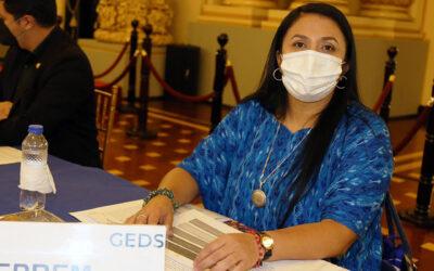 Subsecretaria Presidencial de la Mujer, Alejandra Hernández, participó en la 5a. Reunión Ordinaria del Gabinete Específico de Desarrollo Social -GEDS-