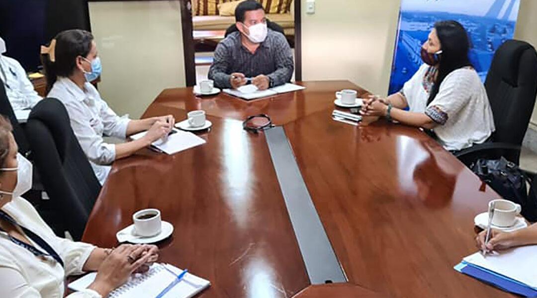 Acercamiento con el Gobernador Departamental de Alta Verapaz Sr. Romel Manuel Veliz.