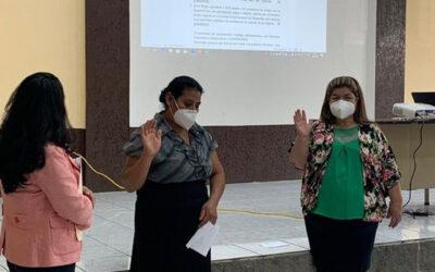 Elección de Representantes de Organizaciones de Mujeres, ante el Consejo Departamental de Desarrollo -CODEDE- en Jalapa.