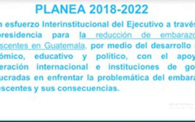 Reunión ordinaria virtual de la Mesa del Plan Nacional de Prevención de Embarazos en Adolescentes -PLANEA-