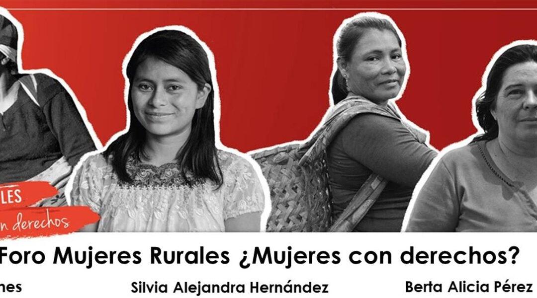 La SEPREM participó en el Foro Mujeres Rurales ¿Mujeres con derechos?