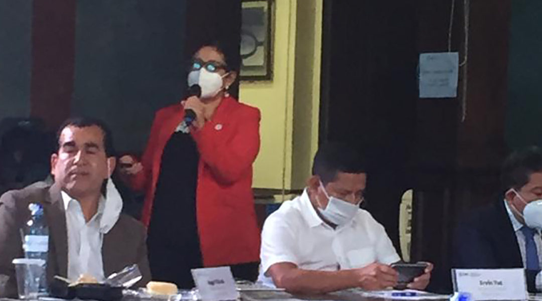 Reunión preparatoria del Consejo Nacional de Desarrollo Urbano y Rural -Conadur.-