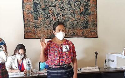 Elección de Representantes de Organizaciones de Mujeres, ante el Consejo Departamental de Desarrollo -CODEDE- en Sacatepéquez.
