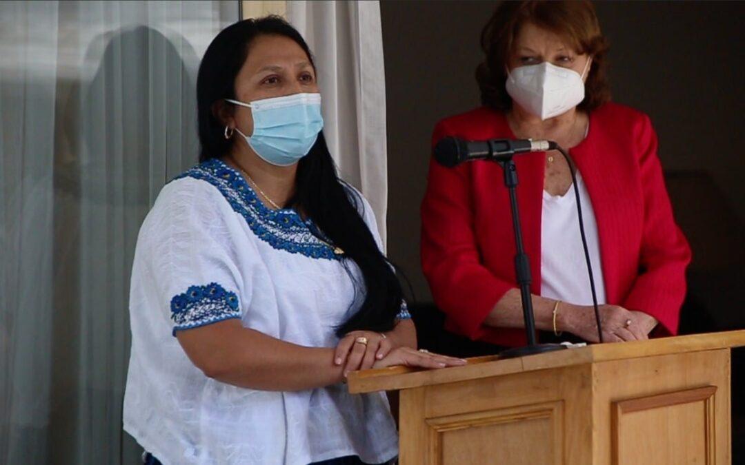 Acto de homenaje al Día Internacional de la Mujer en al Embajada de la República de Argentina.